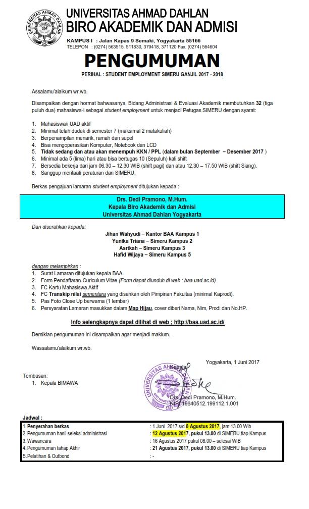 Pengumuman rekruitmen SIMERU Ganjil 2017-2018_001
