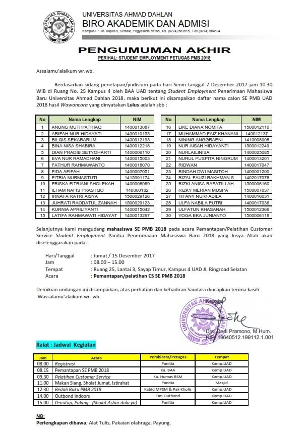 Ralat Pengumuman SE PMB 2018_001